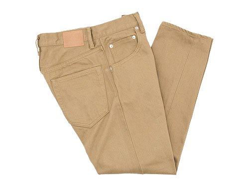 HATSKI Regular Tapered Denim BEIGE