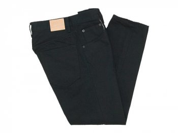 HATSKI Regular Tapered Denim BLACK