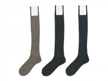 MARGARET HOWELL WOOL RIB SOCKS 〔レディース〕