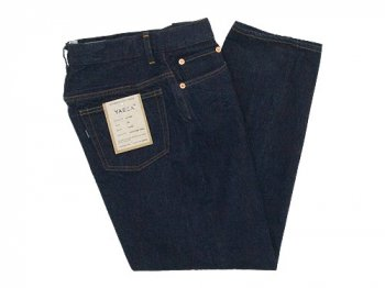 YAECA DENIM PANTS WIDE TAPERED 13W INDIGO 〔レディース〕