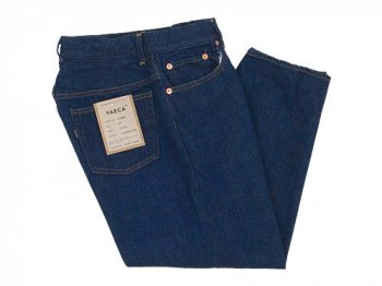 YAECA DENIM PANTS CROPPED TAPERED 13WW INDIGO 〔レディース〕