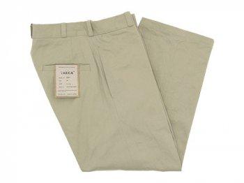 YAECA CHINO CLOTH PANTS STRAIGHT 〔レディース〕