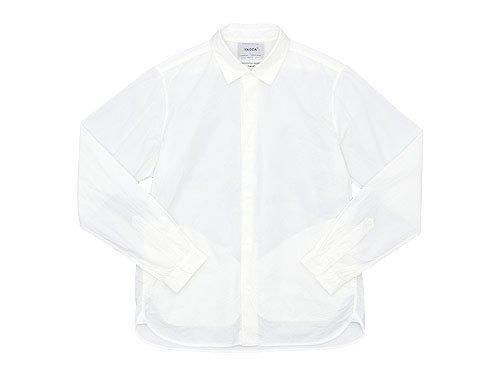 YAECA コンフォートシャツ スタンダード WHITE 〔メンズ〕