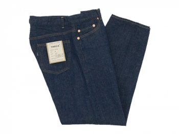 YAECA DENIM PANTS WIDE STRAIGHT 11W INDIGO 〔メンズ〕