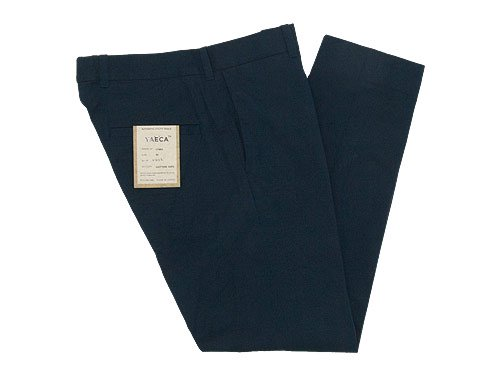 YAECA CHINO CLOTH PANTS STANDARD NAVY 〔メンズ〕