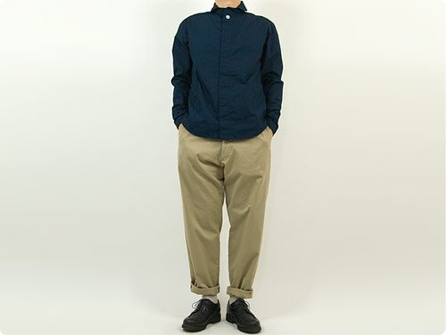YAECA CHINO CLOTH PANTS WIDE TAPERED KHAKI 〔メンズ〕