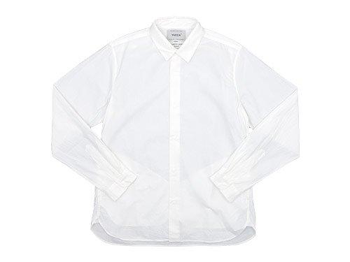 YAECA コンフォートシャツ レギュラーカラー WHITE 〔メンズ〕