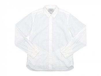 YAECA COMFORT SHIRT REGULAR COLLAR WHITE 〔メンズ〕