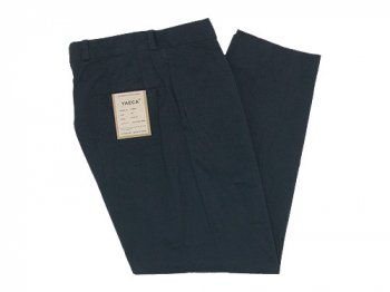 YAECA CHINO CLOTH PANTS TUCK TAPERED 〔メンズ〕