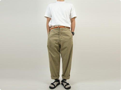 YAECA STOCK 半袖 オーガニックTシャツ WHITE 〔メンズ〕