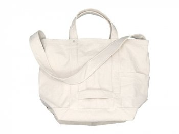 YAECA TOOL BAG LARGE cotton NATURAL