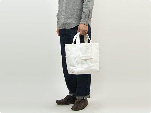 YAECA ツールバッグ SMALL cotton WHITE