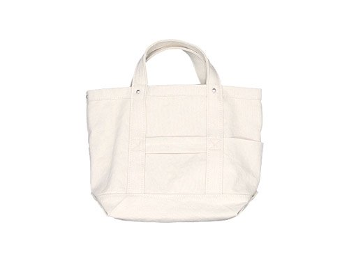 YAECA TOOL BAG SMALL cotton NATURAL