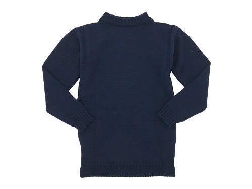 Guernsey Woollens Traditional guernsey plain NAVY