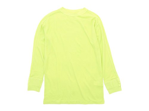 Ohh! Military 8/S Undershirt LIME YELLOW