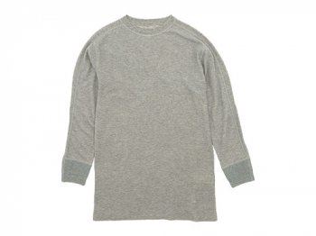 Ohh! Military 8/S Undershirt TOP GRAY