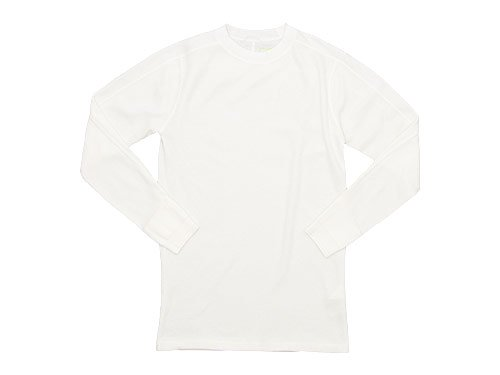 Ohh! Thermal L/S Undershirt WHITE