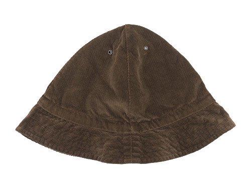 TATAMIZE -TRIM- MOUNTAIN HAT BROWN CORD