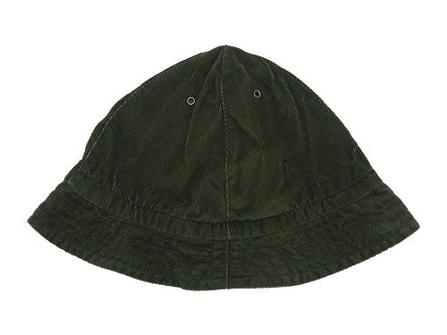 TATAMIZE -TRIM- MOUNTAIN HAT GREEN CORD