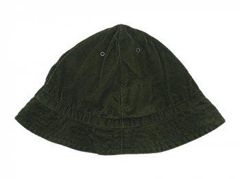 TATAMIZE -TRIM- MOUNTAIN HAT GREEN CORD