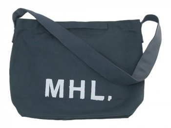 MHL. HEAVY CANVAS SHOULDER BAG 023GRAY