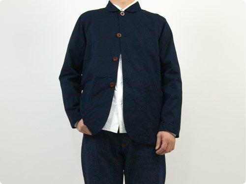 RINEN 80/2綾織 カバーオールジャケット 05ネイビー〔メンズ〕