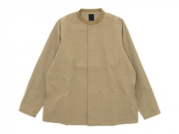 maillot C/H short wind jacket BEIGE
