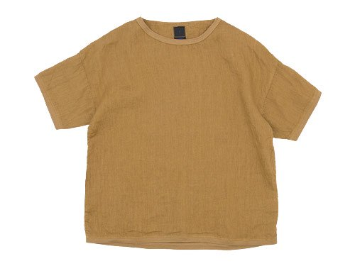 maillot linen shirts Tee CAMEL