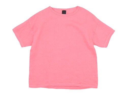 maillot linen shirts Tee PINK