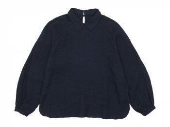 maillot mature airly linen mini collar smock shirt