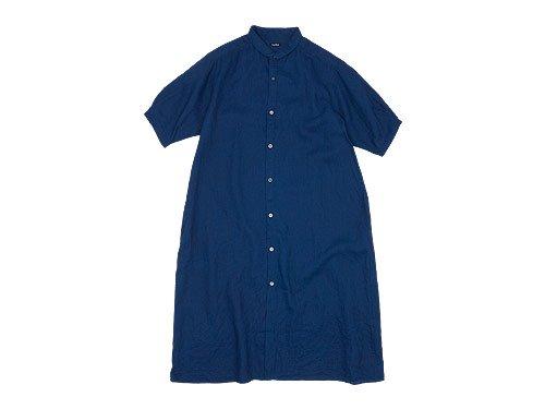 maillot mature indigo linen one-piece INDIGO
