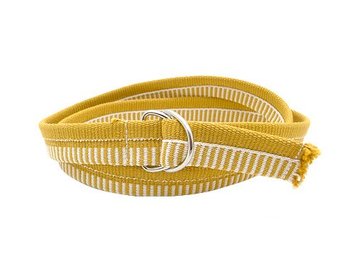 JOHANNA GULLICHSEN Narrow Ribbon Belt YELLOW
