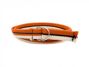 JOHANNA GULLICHSEN Narrow Ribbon Belt ORANGE
