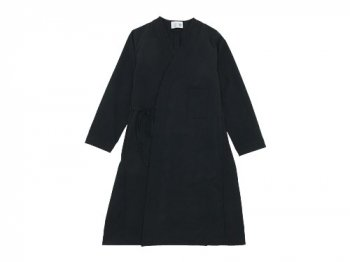 blanc work dress coat BLACK