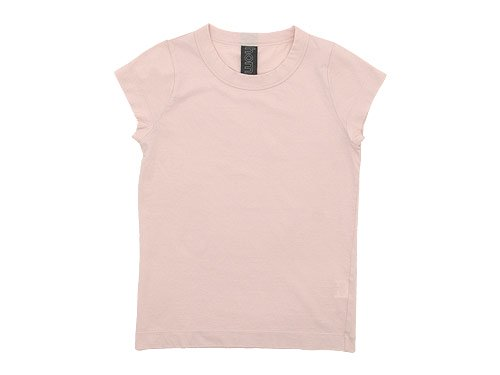 homspun 天竺フレンチスリーブTシャツ ライトピンク 【6906】