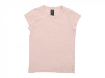homspun 天竺フレンチスリーブTシャツ ライトピンク