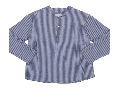 ordinary fits PAJAMA SHIRTS stripe NAVY