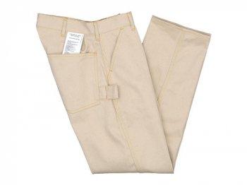 TUKI work pants 05ecru