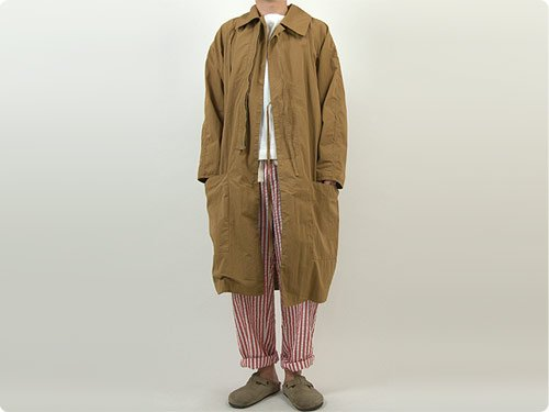 TATAMIZE DRIVING COAT MUSTARD