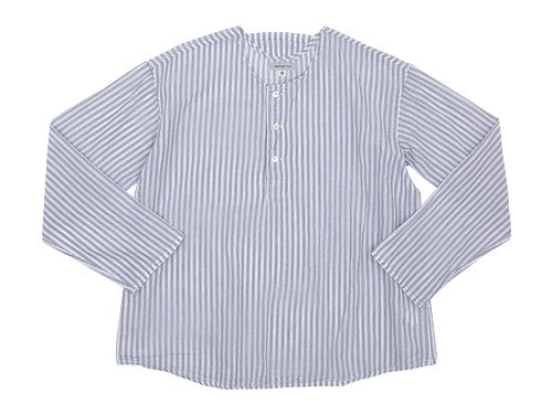 ordinary fits PAJAMA SHIRTS stripe WHITE