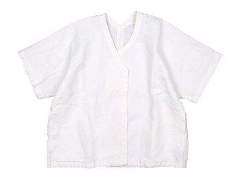 Lin francais d'antan Gir Canapa Jacket WHITE