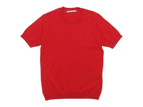 Charpentier de Vaisseau Kyle Cotton Knit Short Sleeve RED