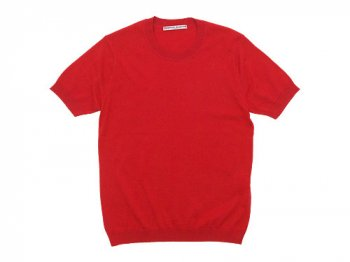 Charpentier de Vaisseau Kyle Cotton Knit Short Sleeve RED