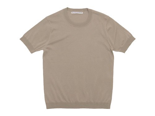 Charpentier de Vaisseau Kyle Cotton Knit Short Sleeve GRAY