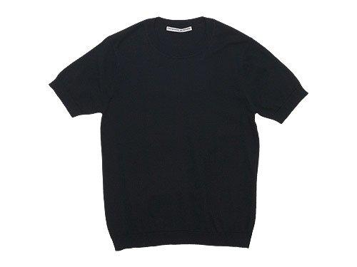 Charpentier de Vaisseau Kyle Cotton Knit Short Sleeve BLACK