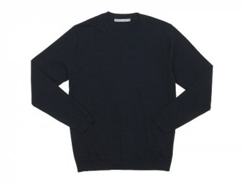 Charpentier de Vaisseau Kerry Cotton Knit Long Sleeve BLACK