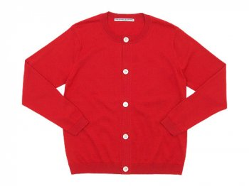 Charpentier de Vaisseau Katrina Cotton Knit Cardigan RED