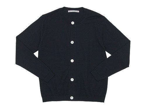 Charpentier de Vaisseau Katrina Cotton Knit Cardigan BLACK
