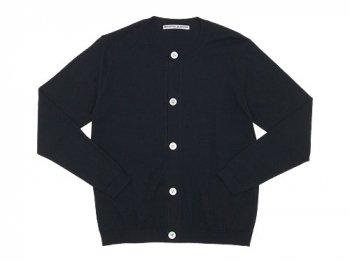 Charpentier de Vaisseau Katrina Cotton Knit Cardigan BLACK
