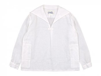 Charpentier de Vaisseau Susie Sailor Shirts WHITE